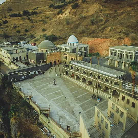 Le tombeau du Tana rabbi Meir Baal Haness