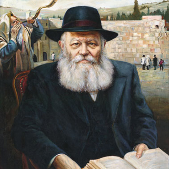 La tombe du Rabbi de Loubavitch
